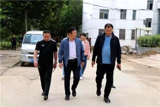 郑州二十九中迎接区教体局安全督导组检查